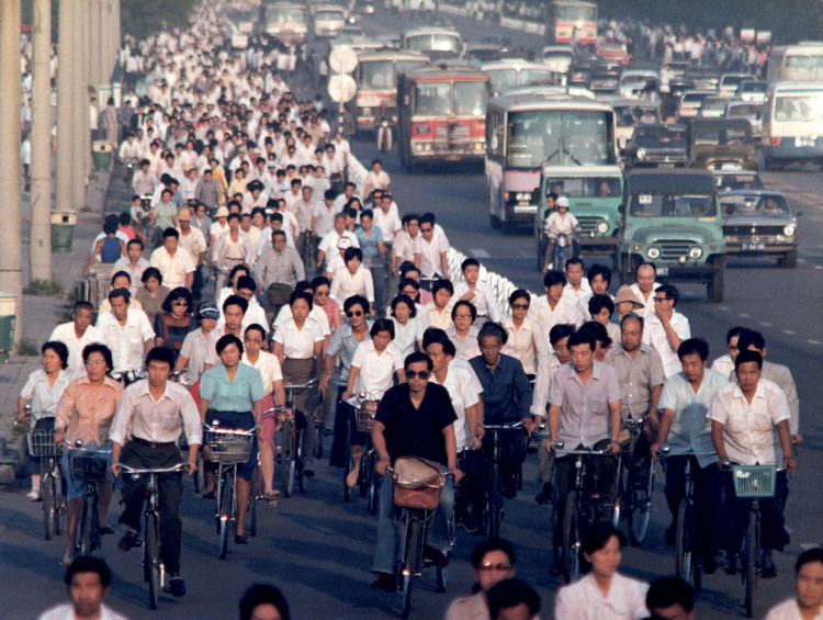 Kingdom Of Bicycles China In 1980s Citybikr 城市骑车人