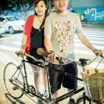 <!--:en-->DIY tandem by the sweetest biker couple in Shanghai<!--:--><!--:zh-->@艾历克斯-樂 和 @even雅雅,自己焊接组装的双人车<!--:-->