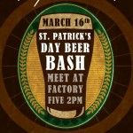 <!--:en-->St. Patrick's Day Beer Bash<!--:--><!--:zh-->St. Patrick's Day<!--:-->